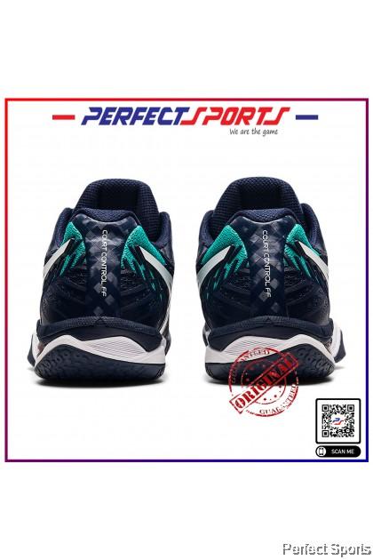[Free Shoe Bag + Sock] Perfect Sports - Asics Court Control FF2 (Women) Midnight/White [100% Genuine]