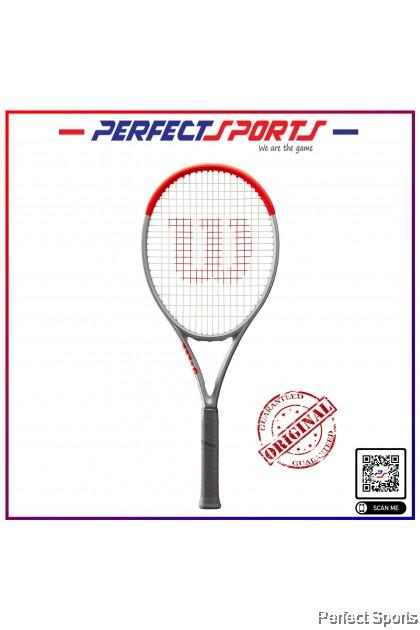 Wilson Clash 100 SILVER Tennis Racket [100% Genuine]