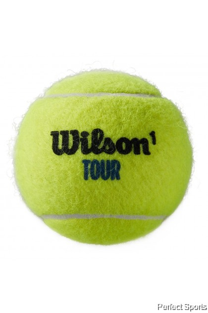 Perfect Sports - Wilson Tour Premier All Court 3 Ball can [100% Genuine]