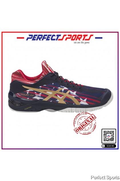 Asics Court FF L.E Mens Tennis - Indigo Blue/Gold/Red